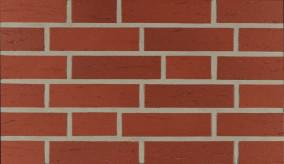 Фасадна клінкерна плитка 13050 rot-natur genarbt