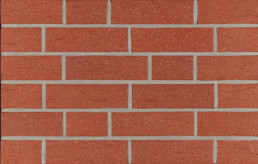 Фасадна клінкерна плитка 13090 rot-natur genarbt besandet
