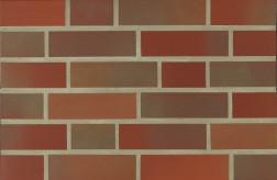 Фасадна клінкерна плитка 14000 rot-bunt glatt
