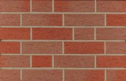 Фасадна клінкерна плитка 14590 rot-nuanciert genarbt besandet