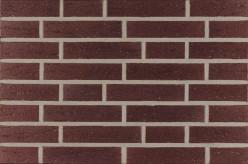 Фасадна клінкерна плитка 33250 bordeaux genarbt