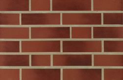 Фасадна клінкерна плитка 16000 rot-geflammt glat