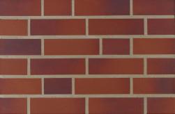 Фасадна клінкерна плитка 15600 rot-blau-bunt glatt
